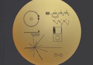 Goldene Schallplatte der Voyager-Sonde