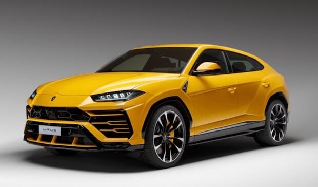 Lamborghini Urus in Gelb