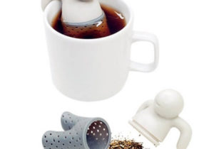 Mr. Tee Infuser aus Silikon