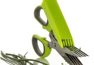 Scissors Herb Kräuterschere mit 5 Klingeln