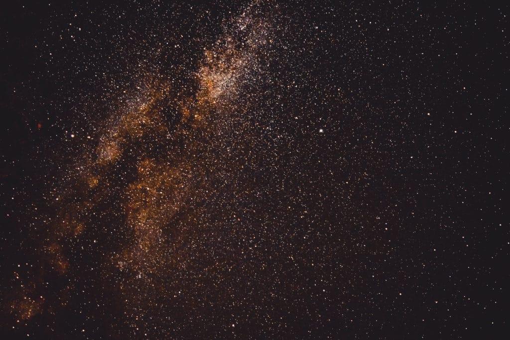 Astronomie - Dunkler Sternenhimmel