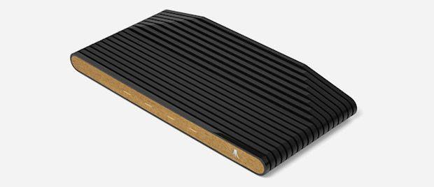 Atari VCS Konsole in Holz