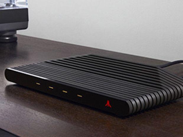 Atari VCS Konsole in schwarz