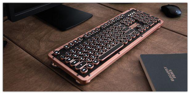 Azio Retro Classic BT Tastatur