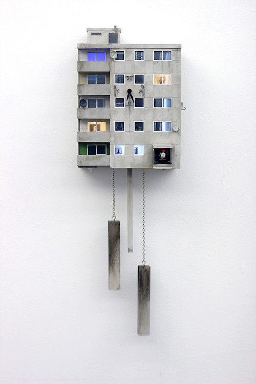 Cuckoo Blocks Berlin - Kuckkucksuhr