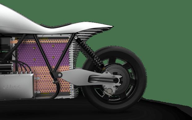 Ethec Elektromotorrad Batterie