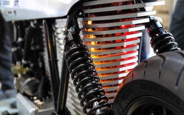 Ethec Elektromotorrad Detailansicht