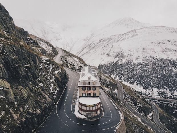 Furka Pass - Obergoms - Schweiz