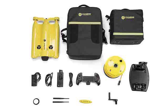 GLADIUS Advanced Pro - Ausrüstungs-Set der Unterwasser-Drohne