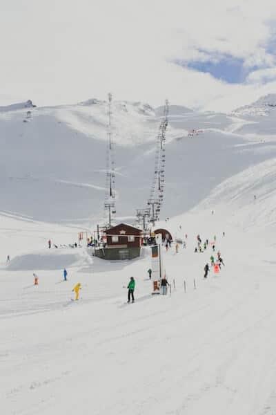 Les Deux - Alpen - Mont de Lans - Frankreich
