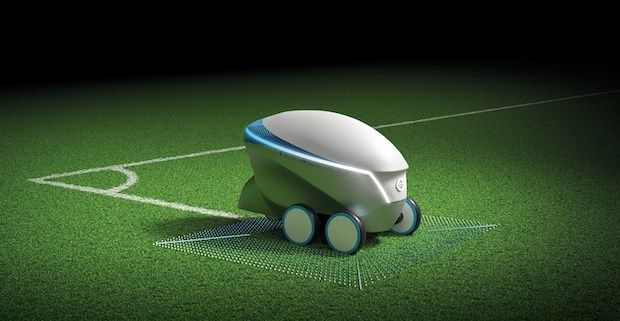 NIssan Pitch-R Roboter