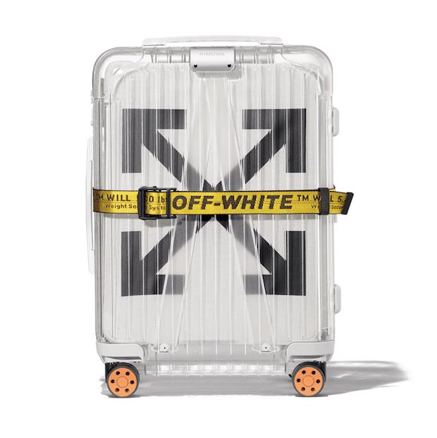 RIMOWA X OFF-WHITE See Through White
