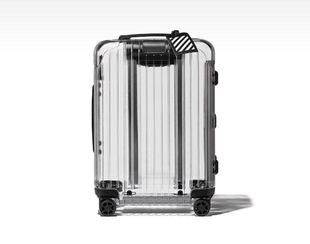 RIMOWA X-OFF - der transparente Koffer