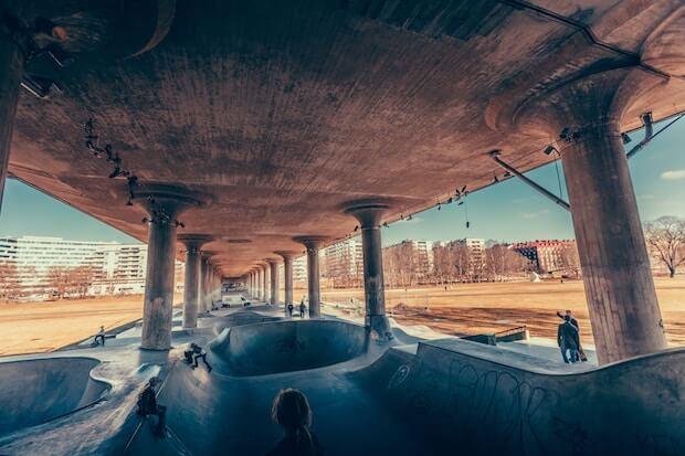 Stockholm - Skateboard - Schweden