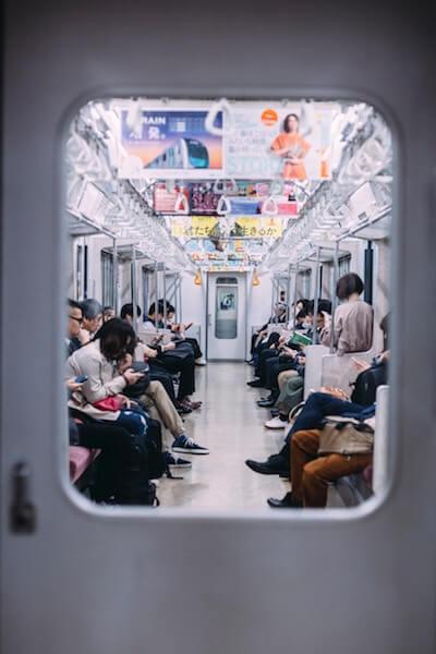 U-Bahn - Tokio - Japan