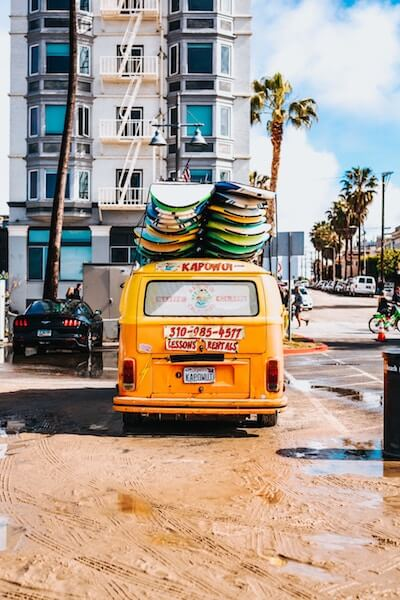 VW Bus - Surfer - USA