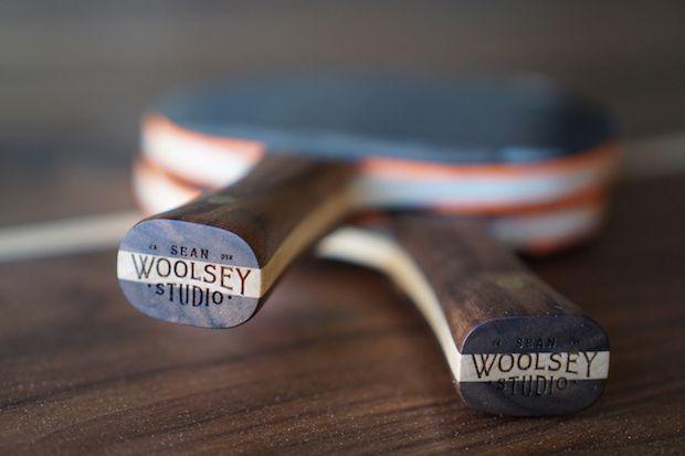 Tischtennis-Schläger von Woolsey