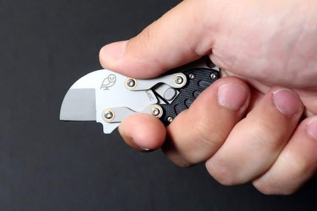 Eclipse Messer geöffnet