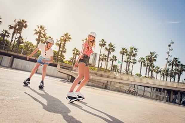 Segway Drift W1 e-Skates im Park