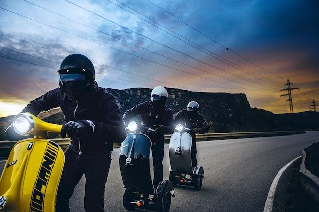Z-Scooter Rennen