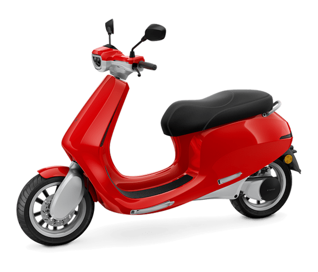 AppScooter E-Roller in Rot