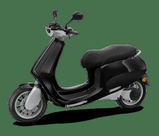 AppScooter E-Roller in Schwarz