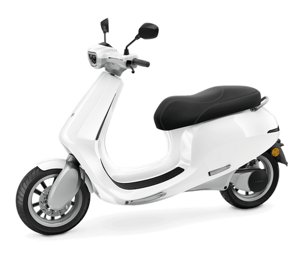AppScooter E-Roller in Weiss