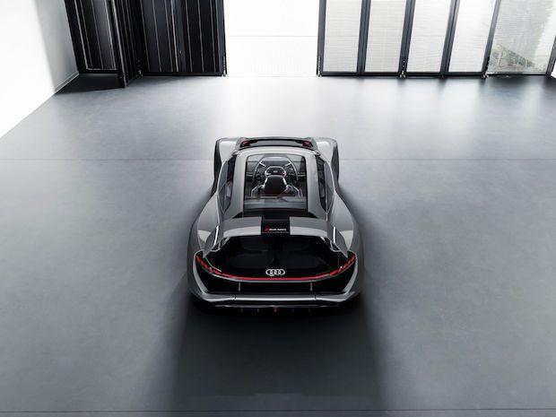 Audi PB18 e-tron Rückansicht