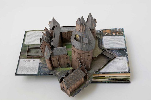 Harry Potter: A Pop-Up Guide to Hogwarts - Ausschnitt
