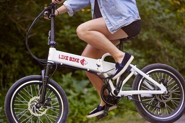 Like Bike E-Bike Fahrt