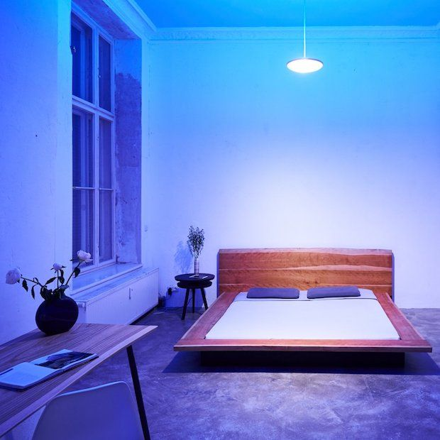 Model F Luke Roberts Leuchte - Schlafzimmer