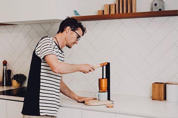 Newton Espresso Zubereitung