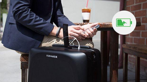Ovis Koffer mit Ladefunktion
