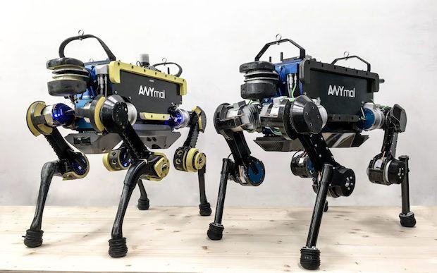 ANYmal Roboter der ETH Zürich