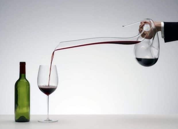 BAINASIQI Wein Dekanter aus Kristallglas