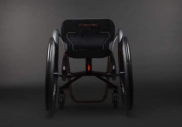 Küschall Superstar Rollstuhl Rückansicht