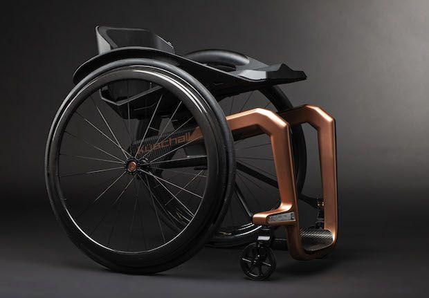 Küschall Superstar Rollstuhl Seitenansicht