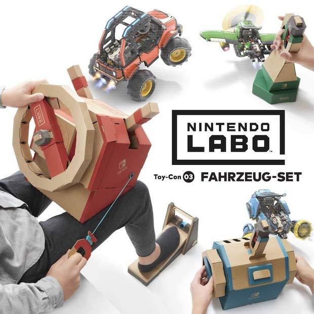 Nintendo Labo Fahrzeug Set