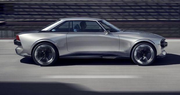 Peugeot e-Legend Seitenansicht
