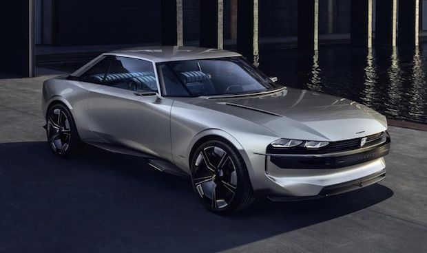 Peugeot e-Legend Conceptcar