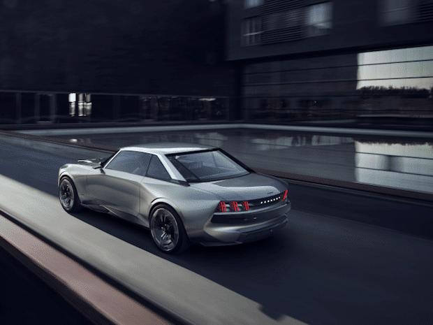 Peugeot e-Legend Heckansicht