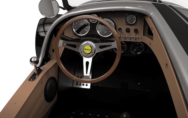 Vanderhall Venice Speedster Cockpit