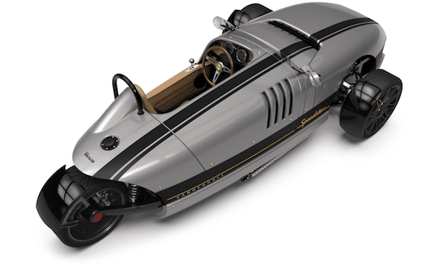 Vanderhall Venice Speedster von Oben
