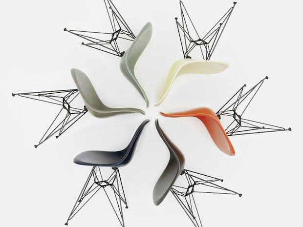 Vitra Eames Fiberglass Chairs Farben