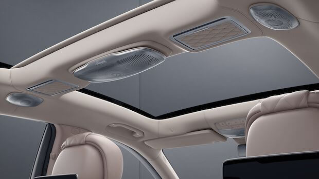 Burmester High-End 3D-Surround-Soundsystem Mercedes S-Klasse