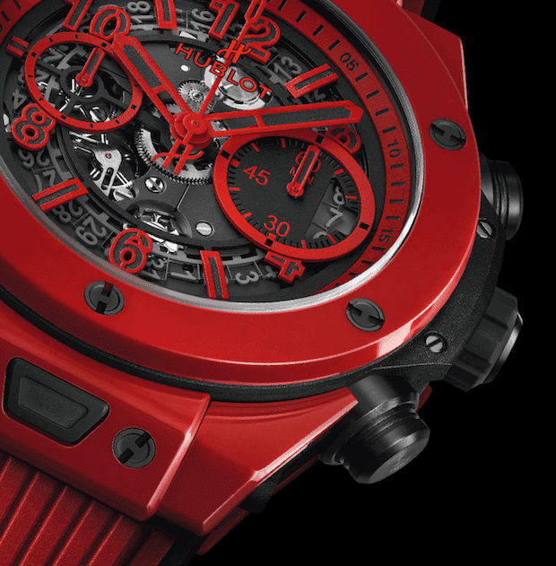 Unico Red Magic Chronometer -Details
