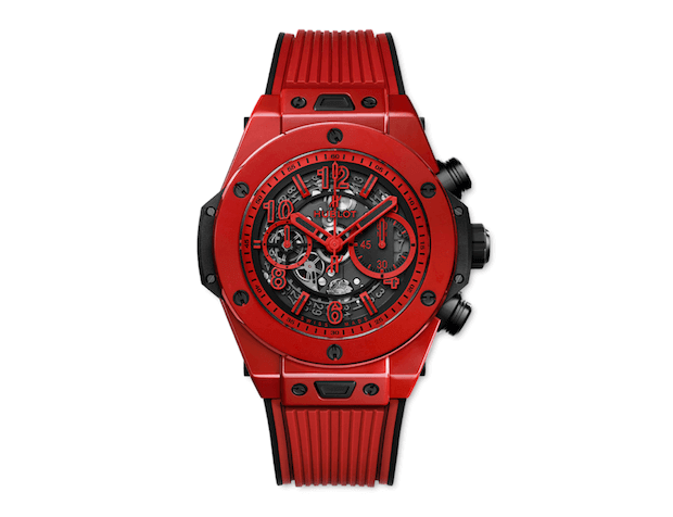 Unico Red Magic Chronometer von Hublot