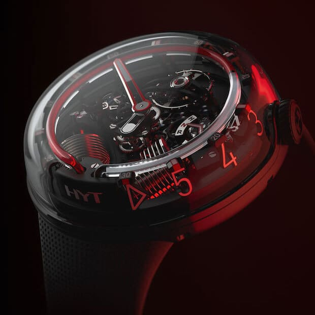 HYT H20 Chronometer in Rot