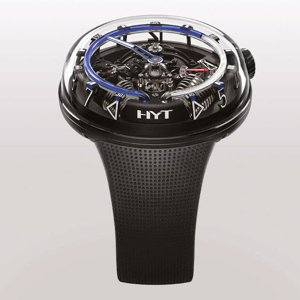 HYT H20 Chronometer in Blau