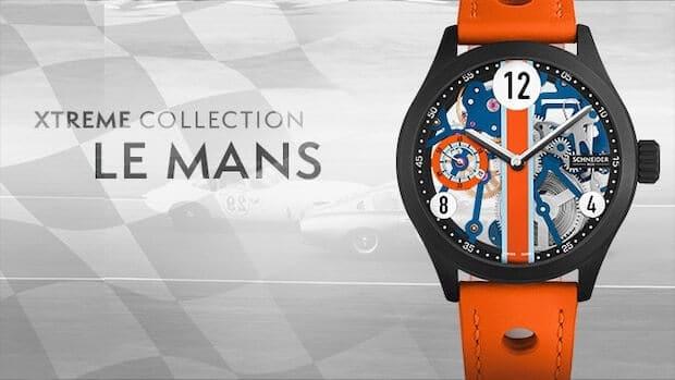 Le Mans Uhr von Schneider&Co